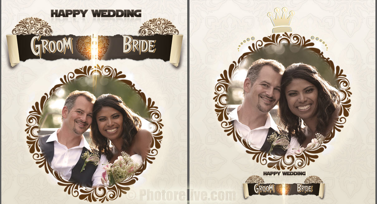 royalty wedding album photobook design