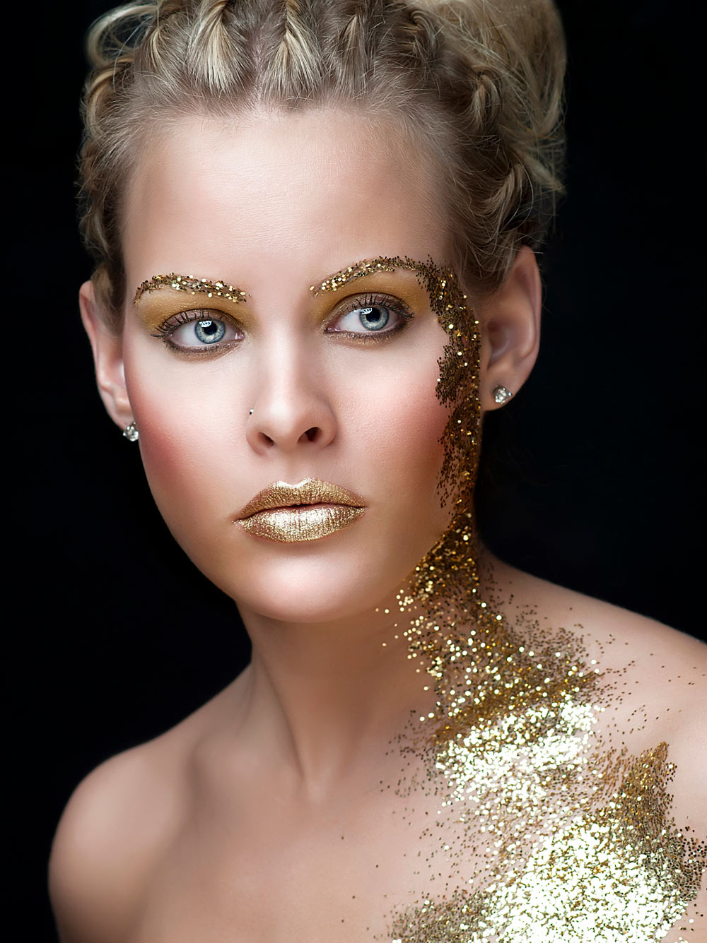 Makeup retouching for model and highend face editing