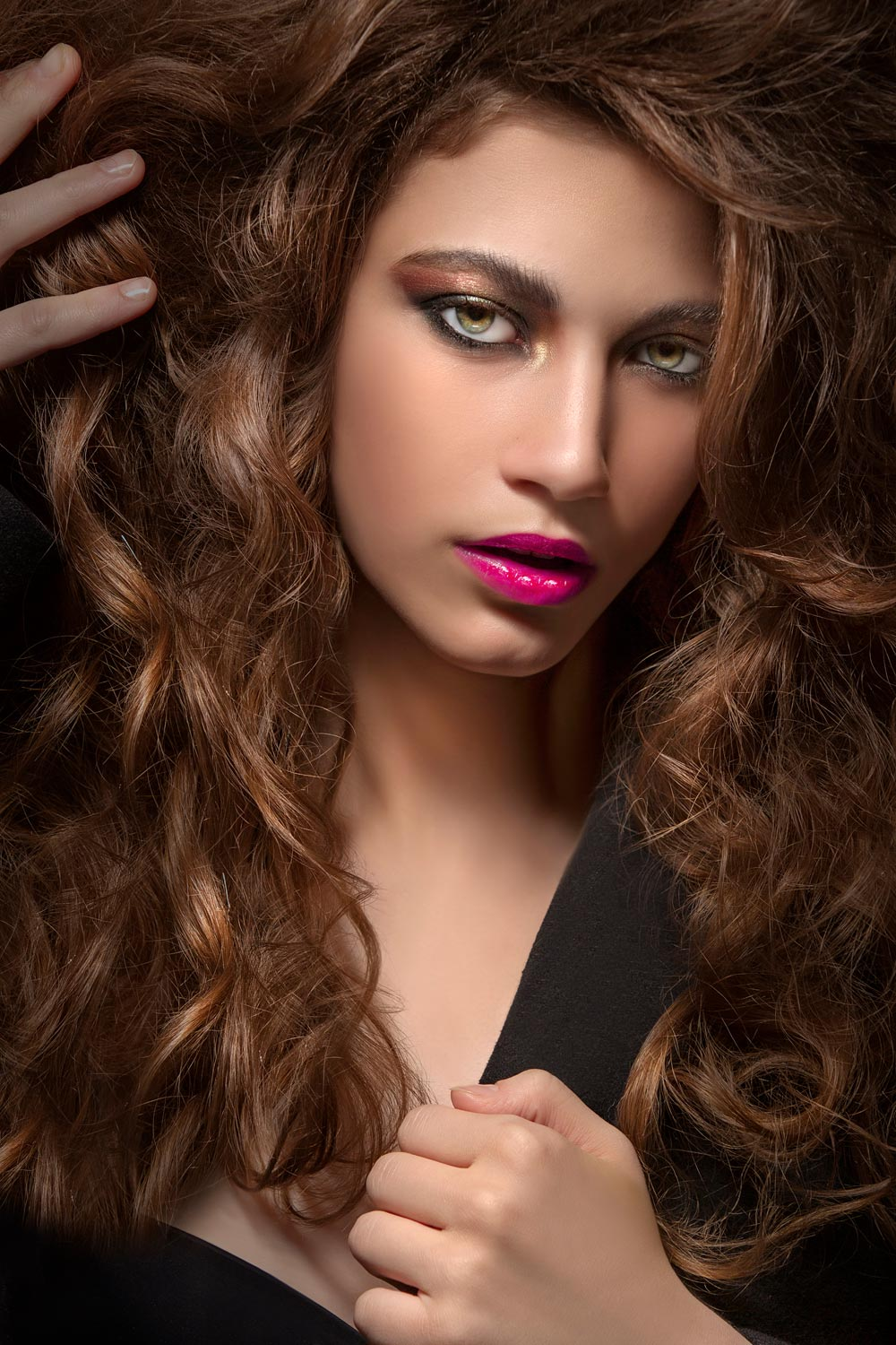 Hair and lips Highend photo Makeup Retouching service