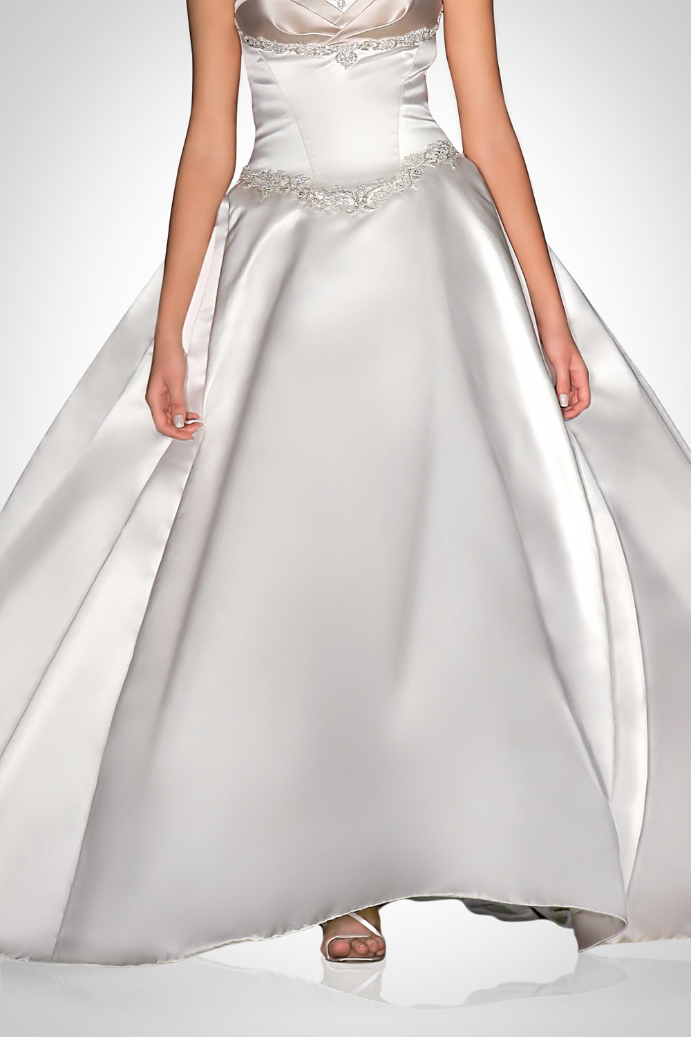 background removal on dress product smoothing
